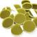 Peilimosaiikki, Kulta, pyöreä, 20 mm, 500 g