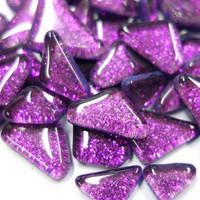 Soft Glass Glitter, Violet 100 g