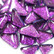 Soft Glass Glitter, Violet 100 g