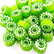 Millefiori, Green Flower T40, 100 g