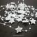 Dekorationsband, Stjärna, vit