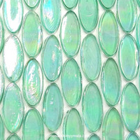 Ellipse, Aqua, sheet, 70 tiles