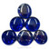 XL-helmet, Blue, 6 kpl