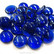 Glass Gems, 500 g, Blueberry