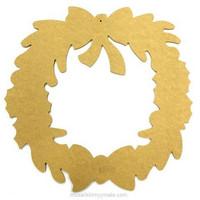 MDF-wreath, 40 cm