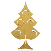 MDF-christmas tree, 38 cm