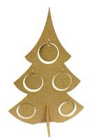 MDF Christmas tree, 38 cm