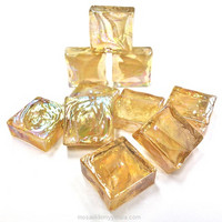 Form Glass, Square, Light Toffee, 20 pcs