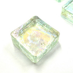 Form Glass, Square, Like Ice, 20 pcs