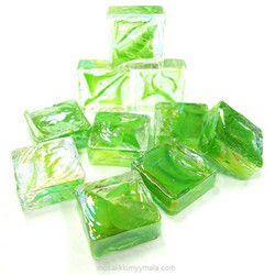 Form Glass, Square, Early Spring, 20 pcs