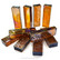 Form Glass, Suorakulmio, Amber, 10 kpl
