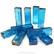 Form Glas, Rektangel, Turquoise, 10 st