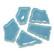 Flip Ceramic, Caribbean Blue, 750 g