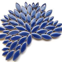 Ceramic leaves, Delphinium, 50 g