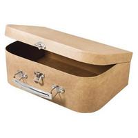 Papier-mâché Suitcase, L