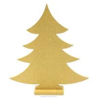 MDF-christmas tree, 26 cm