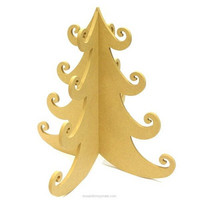 MDF-christmas tree, 30 cm