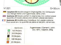 Sjöhäst, D = 30 cm