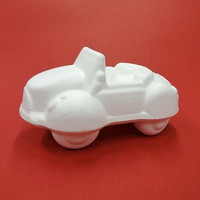 Styrofoam-car, length 17 cm