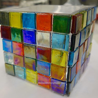 Ice Glass, transparent, Multicolour Mix 1 kg