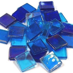 Ice Glass, läpikuultava, Blue Mix 200 g