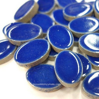 Ceramic Ovals, Blue, 50 g