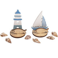 Wooden plug-in parts Maritime