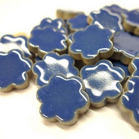 Ceramic Flowers, Blue, 50 g