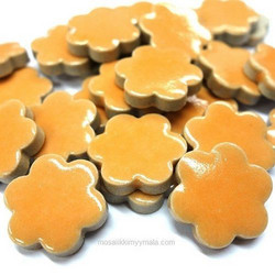 Ceramic Flowers, Orange, 50 g