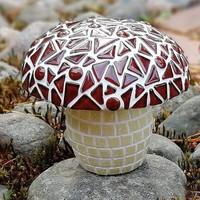 Mosaic Mushroom, Brown, DIY