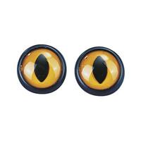 Pöllön silmät, 2 kpl, 12 mm, muovia