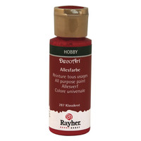 All Purpose paint, Classical Red, 59ml