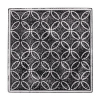 Relief casting plate Flower of life, 11x11cm