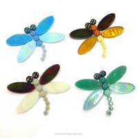 Dragonflies, 4 pcs, DIY