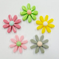 Daisy, Mix, 5 pcs