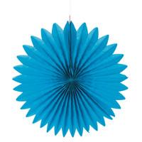 Paperirosetti, halk. 40 cm, azure