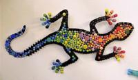 Mosaic gecko, DIY