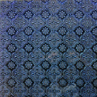 Van Gogh 5x10 cm, Blue/Violet Sparkle Flora
