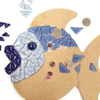 Mosaic fish, DIY
