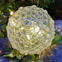 Bright mosaic ball, DIY