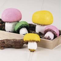 Styrofoam Mushrooms, 5 pcs