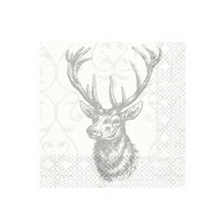 Napkins, Deer, 33x33 cm, 20 pcs