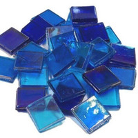 Ice Glas, transparent, Blue Mix, 1 kg