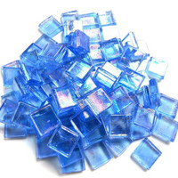 Transparent 10 mm, Corundum, iridescent, 50 g