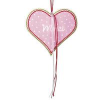 MDF heart, 14 cm