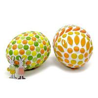 Easter eggs, 2 pcs, + bunnies, DIY