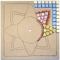 Mosaikklocka, DIY