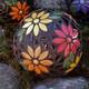Mosaiikkipallo, Kukat, DIY