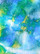 Safety Glass, Marbled Green-Blue-Yellow