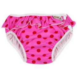 Imse Vimse uimahousut Pinkkipallo frilla S 6-8 kg